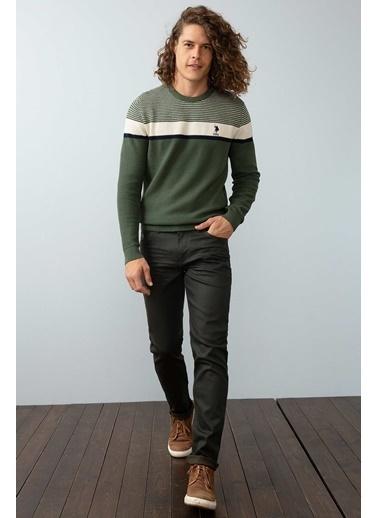 U.S. Polo Assn. Jean Pantolon Yeşil